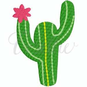 Mini cactus embroidery design, Sketch cactus, Mini cactus, Cactus, Cacti, Summer, Plant, Flower Vintage stitch embroidery design, Applique, Machine embroidery design, Blanket stitch, Beanstitch, Vintage, Classic, Sketch