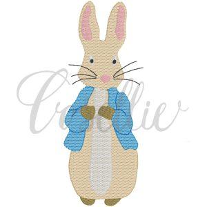 Peter Rabbit embroidery design, Beatrix Potter, Peter Rabbit, Boy bunny, Boy rabbit, Vintage stitch embroidery design, Applique, Machine embroidery design, Blanket stitch, Beanstitch, Vintage