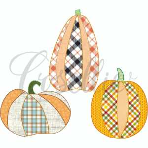 Pumpkin appliques embroidery design, Pumpkin applique, Fall pumpkin, Fall design, Quick stitch pumpkin, Halloween, Vintage Thanksgiving, Vintage stitch embroidery design, Applique, Machine embroidery design, Blanket stitch, Beanstitch, Vintage, Classic