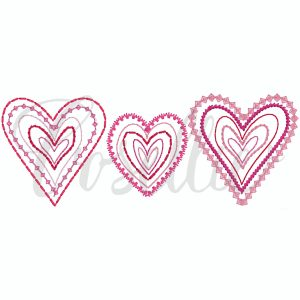 Simple heart sketch embroidery design, hearts, Valentines hearts embroidery design, Valentines embroidery design, Heart, Vintage stitch embroidery design, Applique, Machine embroidery design, Blanket stitch, Beanstitch, Vintage, Classic