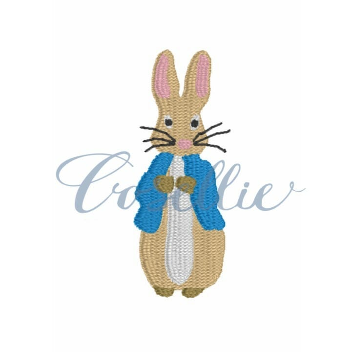 Mini Peter Rabbit Embroidery Design Embroidery Design Cosellie