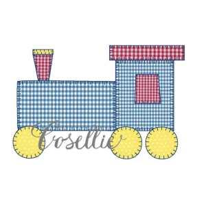 Train applique embroidery design, Train, Vintage train, Baby, Vintage stitch embroidery design, Applique, Machine embroidery design, Blanket stitch, Beanstitch, Vintage, Boy