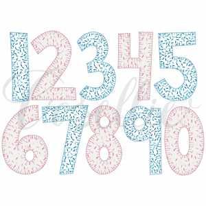 Vintage applique numbers, Birthday, Party, Birthday numbers, Applique numbers, Blanket stitch numbers, Name frame, Font frame, Vintage bow, Monogram, Vintage stitch embroidery design, Applique, Machine embroidery design, Blanket stitch, Beanstitch, Vintage, Classic