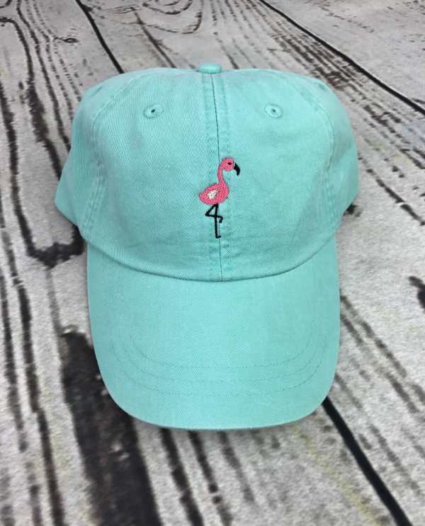 Flamingo baseball cap, Flamingo baseball hat, Flamingo hat, Flamingo cap, Personalized cap, Custom baseball cap, Beach baseball cap