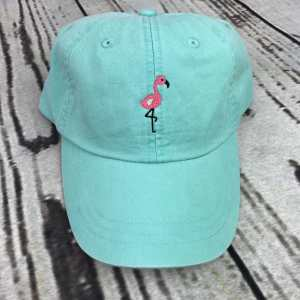 Flamingo baseball cap, Flamingo baseball hat, Flamingo hat, Flamingo cap, Personalized cap, Custom baseball cap, Beach baseball cap