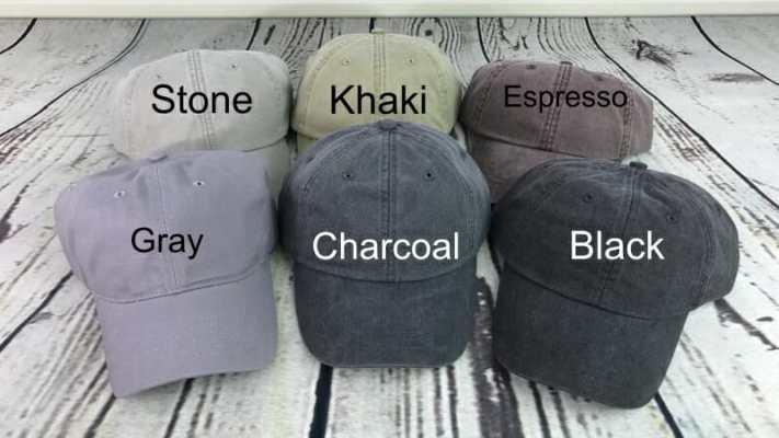 Baseball cap colors
