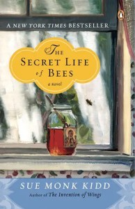 Book cover of The Secret Life of Bees.