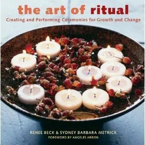 Book cover of the Art of Ritual.