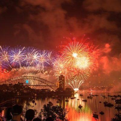 Happy New Year! I'm going to Australia!