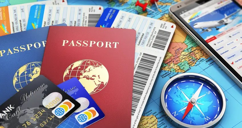 Travel documents. Before you go.