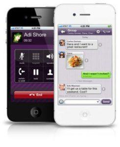 Viber app.