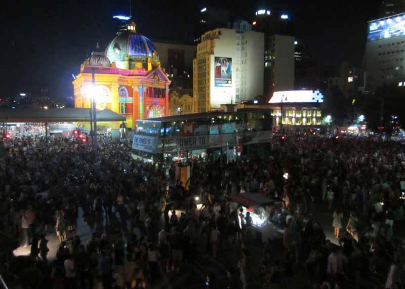White Night Melbourne 2013.