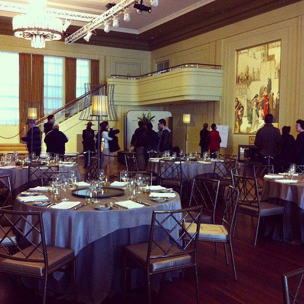 Inside Myer Hall.