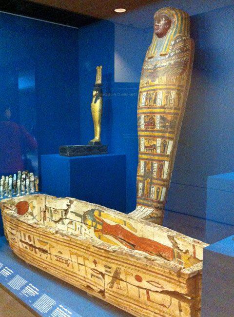 Egyptian antiquities.
