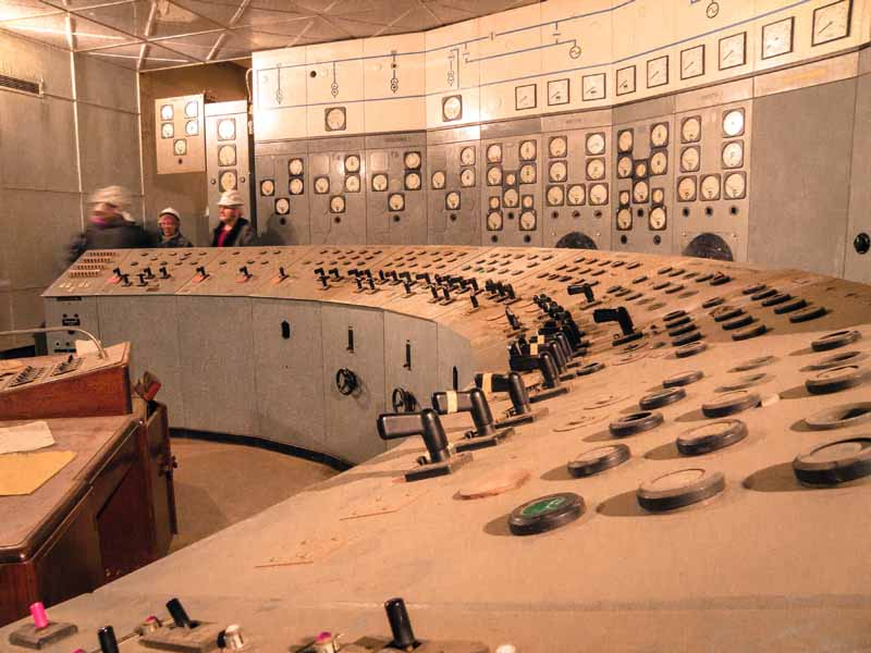 Substation J control room