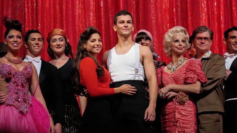 The cast of Strictly Ballroom the Musical.