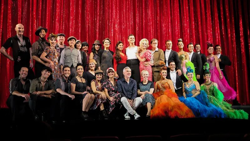Cast of Strictly Ballroom.