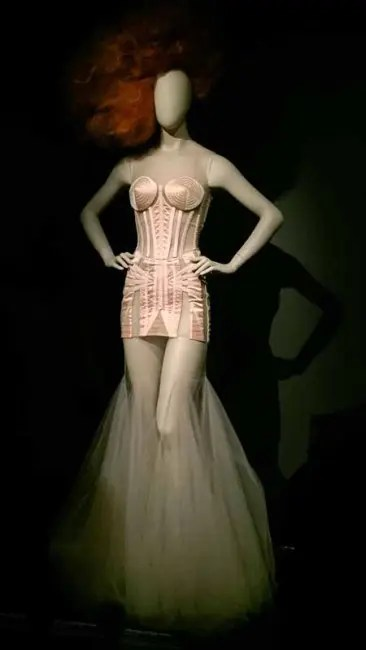 Gaultier fashion.