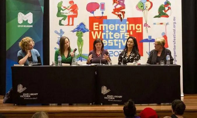 Emerging Writers' Festival 2016 panel writing