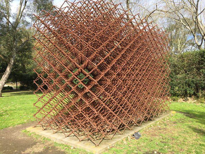 An art sculpture.