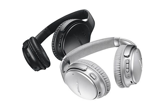 Bose QuietComfort 35 wireless headphones.