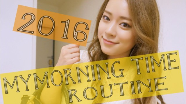 My morning time routine 〜2016 SUMMER〜