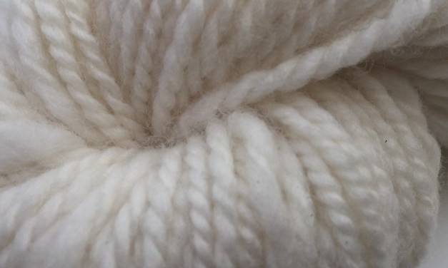 Spinning Shetland Wool for a Personal Project