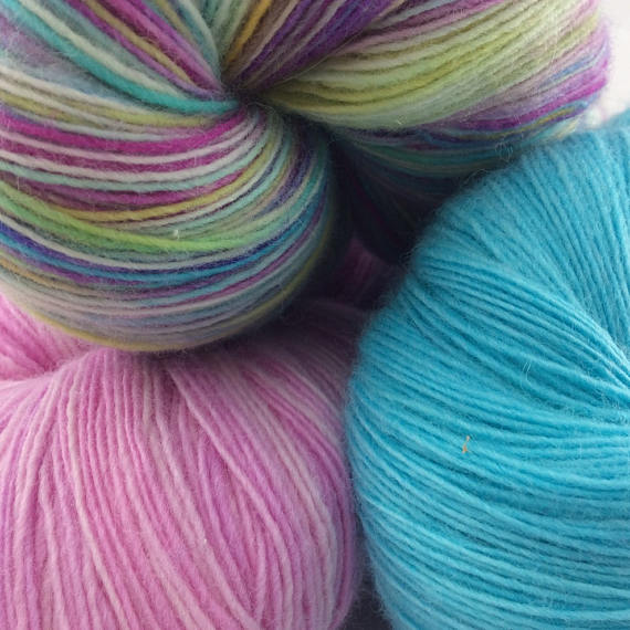 Indie dyed yarn