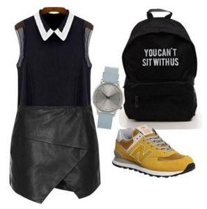 3 modalitati de a purta pantofii sport
