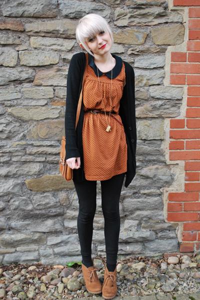 wedge-new-look-boots-topshop-dress-h-m-leggings-satchel-vintage-bag_400