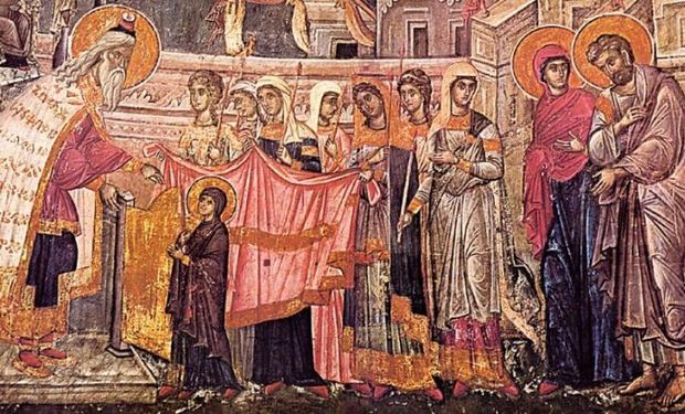 Intrarea Maicii Domnului in Biserica, mare praznic imparatesc