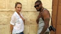 Usher și soția sa își anunță despărțirea