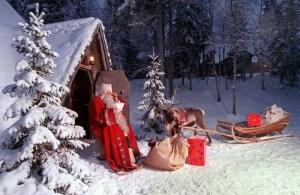 Circuite turistice de iarna: acasa la Mos Craciun sau in Tarile Baltice?