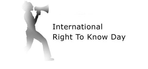 28 Septembrie 2016 - Ziua Internațională a Accesului la Informație