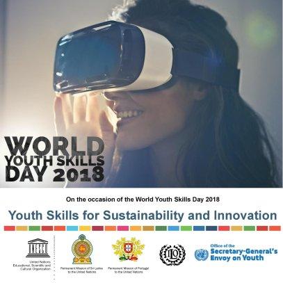 15 iulie 2018 - Ziua Mondiala a Competentelor Tinerilor