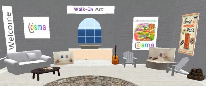 Cosma Welcome Area SL