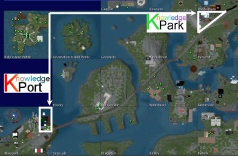 Knowledge Park & Knowledge Port Map
