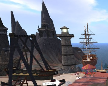 Boat Dock, Knowledge Port, Pyra