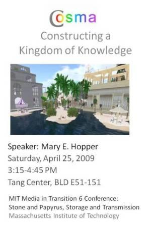 Cosma: Constructing a Kingdom of Knowledge