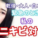 【スキンケア】私のニキビ対策と緊急お助け薬!~乾燥・大人・白ニキビ~