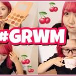 【ライブ当日】激盛れメッキラチェリーメイクでテンションタカヒロ〜!【GRWM】