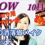 【雑誌付録】GLOW(グロー)10月号/大人の洒落眉メイク4点セット