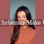 【クリスマスメイク】クリスマスコフレ使ってメイクしてみた❤️✨