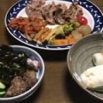 豚肉あり!野菜炒めあり!のダイエット食 【糖質制限の晩ご飯】