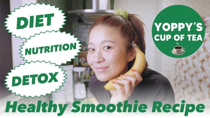 美容健康、ダイエットにとっても良い💚私が毎朝飲んでいるモーニングスムージーを作ろう🥤