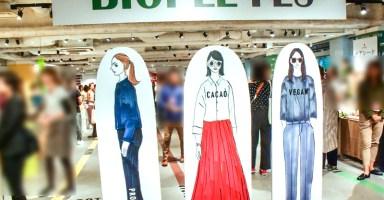2018年秋冬新商品の展示会「BIOPLE FES(ビープルフェス)」