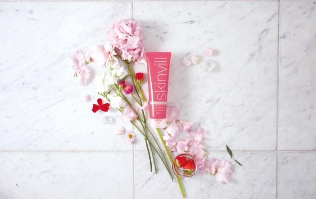 2017春の限定品【skinvillスキンビル】花の香りがするホットクレンジングジェルとは?