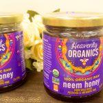 ヘブンリーオーガニックス インドのオーガニックニームハニー、味は?クセは?試食レポート