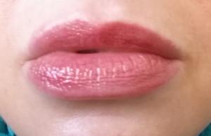 Honest Beauty Lip Gloss in Inspired Kiss - swatch