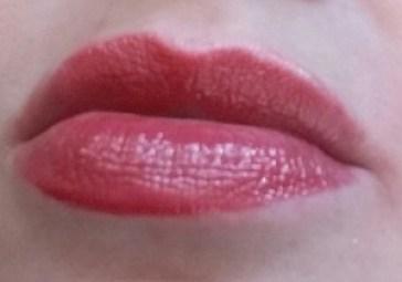 Bobbi Brown Nourishing Lip Color Uber Rose - swatched on lips